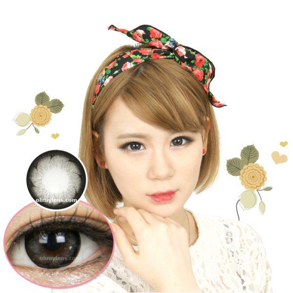Chou Gray Contact Lenses 01