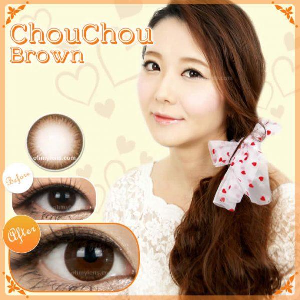 Chou Chou Brown Contact Lenses 01