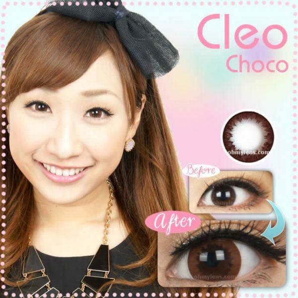 Cleo Choco Contact Lenses 01