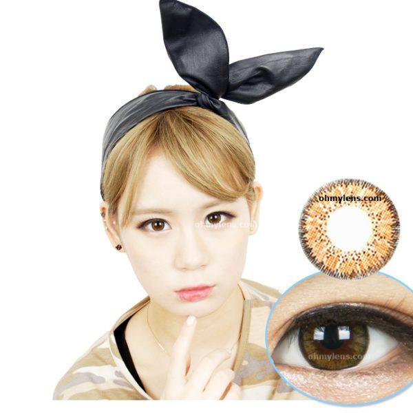 Moonlight Brown Contact Lenses 01