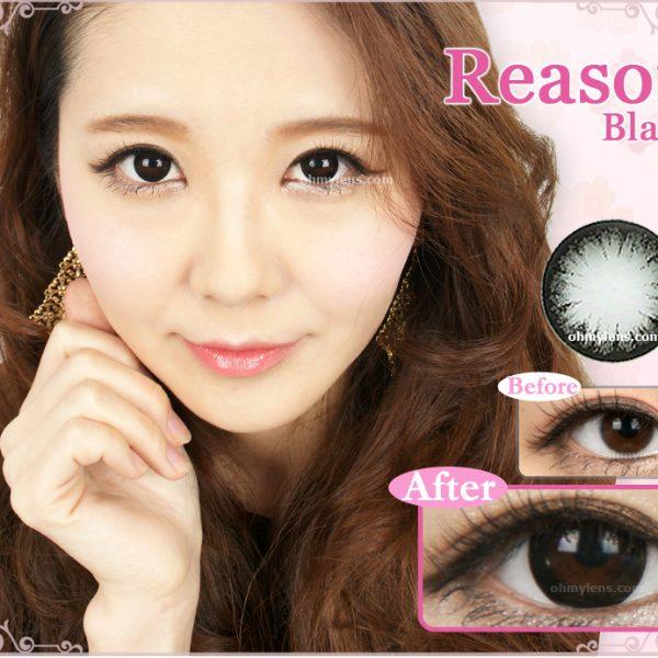 Reason Black Contact Lenses 01