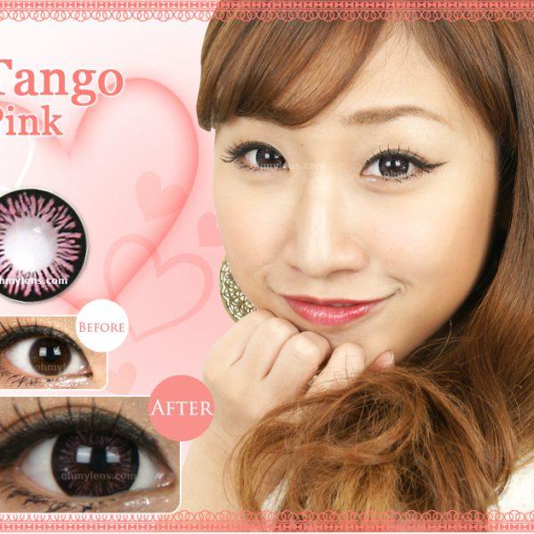 Tango Pink Contact Lenses