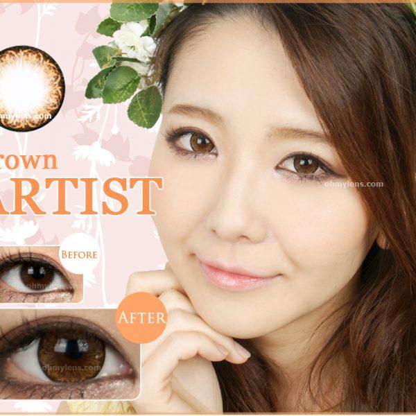 Artist Brown Contact Lenses 01