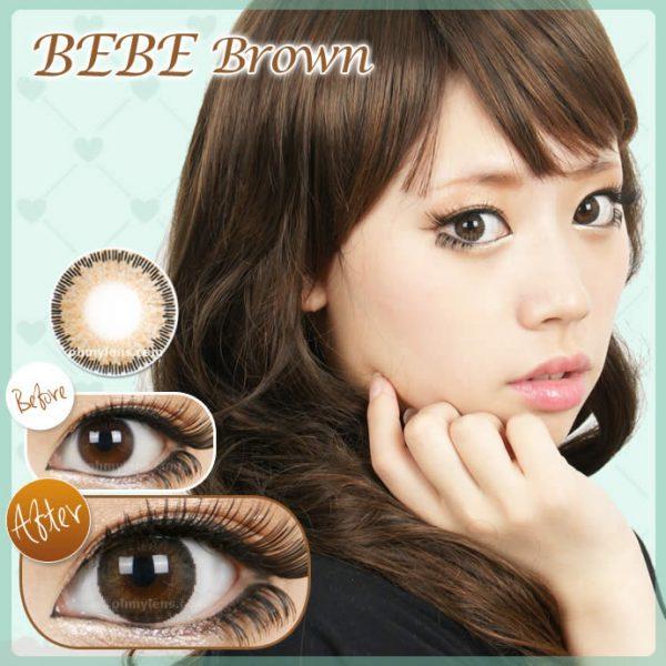 Bebe Brown Contact Lenses 01