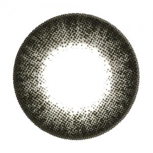 Chiffon Black Contact Lenses