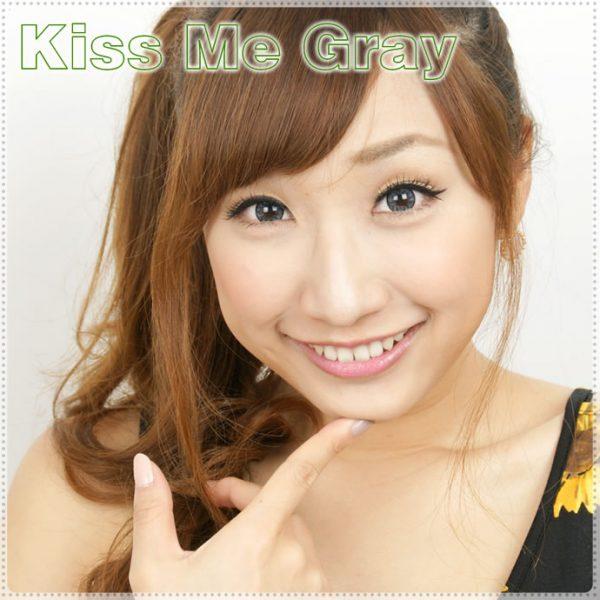 Kiss Me Gray Contact Lenses 03