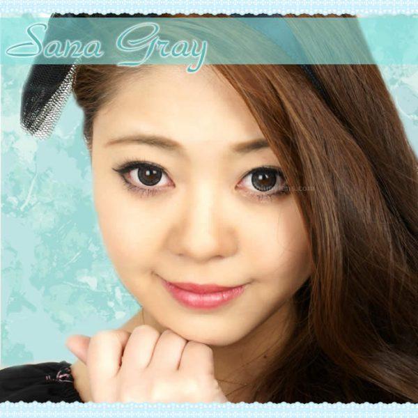 a beautiful girl with sana gray contact lenses 02
