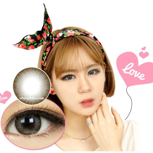 Chiffon Gray Contact Lenses