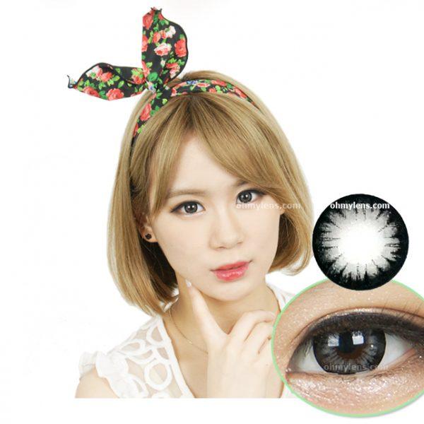 Iris Gray Contact Lenses 01