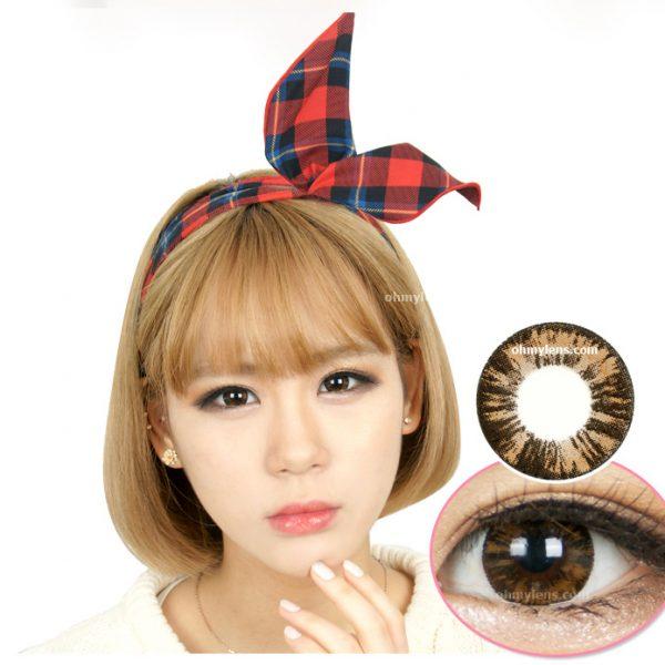 Kish Brown Contact Lenses 01