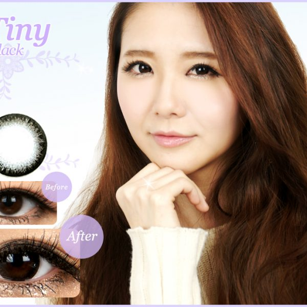 Tiny Black Contact Lenses 01